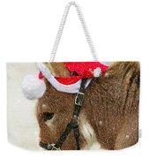 The Christmas Donkey Weekender Tote Bag