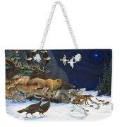 The Christmas Star Weekender Tote Bag