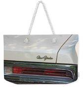 The Chrysler New Yorker  Weekender Tote Bag