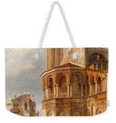 The Church Of Santa Maria E San Donato In Murano Weekender Tote Bag