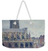 The Church Of St Jacques In Dieppe Weekender Tote Bag