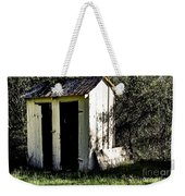 The Church Outhouse Weekender Tote Bag
