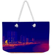 The City At The Beach Weekender Tote Bag