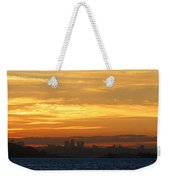 The City From Across The Bay Weekender Tote Bag
