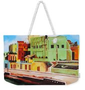 The City Of Matanzas In Cuba Weekender Tote Bag