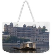 The City Palace, India Weekender Tote Bag
