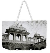 The City Palace Udaipur Weekender Tote Bag