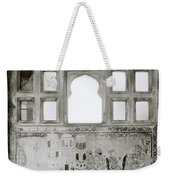 The City Palace Window Weekender Tote Bag