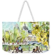 The City Park In Budapest 01 Weekender Tote Bag