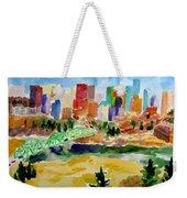 The City Skyline Weekender Tote Bag