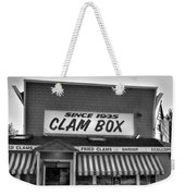 The Clam Box Weekender Tote Bag by Joann Vitali