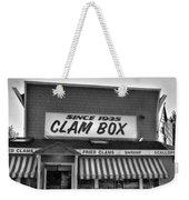 The Clam Box Weekender Tote Bag