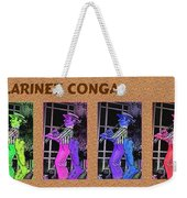 The Clarinet Conga Weekender Tote Bag