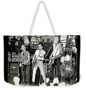 The Clash 1982 Weekender Tote Bag by Chuck Spang