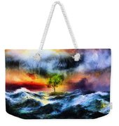 The Clearing Of The Flood Weekender Tote Bag
