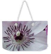 The Clematis Flower Weekender Tote Bag