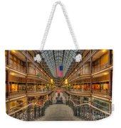 The Cleveland Arcade V Weekender Tote Bag