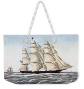 The Clipper Ship Flying Cloud Weekender Tote Bag
