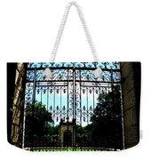 The Gate At Vizcaya Weekender Tote Bag