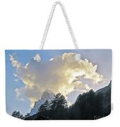 The Cloud Above Weekender Tote Bag