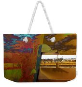 The Clouds Pass By My Window Weekender Tote Bag