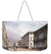 The Club Houses, Pall Mall, 1842 Weekender Tote Bag by Thomas Shotter Boys