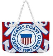 The Coast Guard Shield Weekender Tote Bag