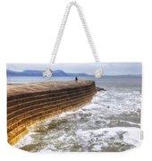 The Cobb - Lyme Regis Weekender Tote Bag