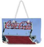 The Coca-cola Corner Weekender Tote Bag