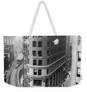 The Cocoa Exchange Building  Weekender Tote Bag