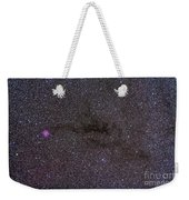 The Cocoon Nebula In The Constellation Weekender Tote Bag by Alan Dyer