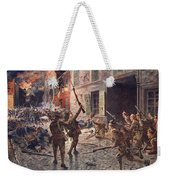 The Coldstream Guards At Landrecies Weekender Tote Bag