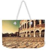 The Coliseum In Rome Weekender Tote Bag