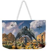 The Colonization Of An Alien World Weekender Tote Bag
