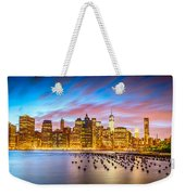 The Color Of New York City Weekender Tote Bag