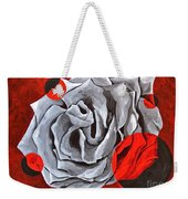 The Color Red Two Weekender Tote Bag