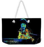 The Colorful Sound Of Bad Company 1977 Weekender Tote Bag