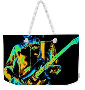 The Colorful Sound Of Mick Playing Guitar Weekender Tote Bag