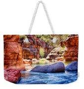 The Colors Of Oak Creek Weekender Tote Bag