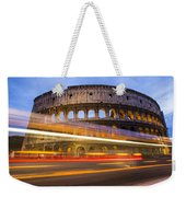 The Colosseum-blue Hour Weekender Tote Bag