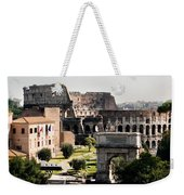 The Colosseum Through The Forum Weekender Tote Bag