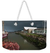 The Columbia River Maritime Museum Sits Weekender Tote Bag