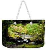 The Coming Of Autumn - Barnes Creek - Lake Crescent - Washington Weekender Tote Bag
