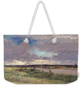 The Coming Storm Weekender Tote Bag by Charles Francois Daubigny