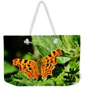 The Comma -- Polygonia C-album Weekender Tote Bag