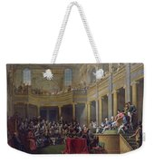 The Committee Of Lyon, 26th January 1802, 1808 Oil On Canvas Weekender Tote Bag
