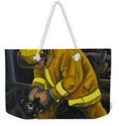 The Compulsion Towards Heroism Weekender Tote Bag