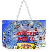 The Coney Island Wonder Wheel Weekender Tote Bag