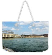 The Conowingo Dam Weekender Tote Bag
