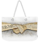 The Constitution Weekender Tote Bag
